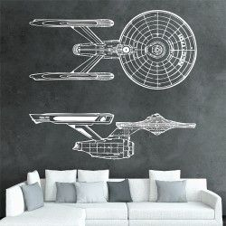 Uss Enterprise Ncc 1701 Serie 1 Star Trek Vinyl Wall Art Decal Wd 0391a Vinyl Wall Art Decal Wall Art Vinyl Wall Art Decals