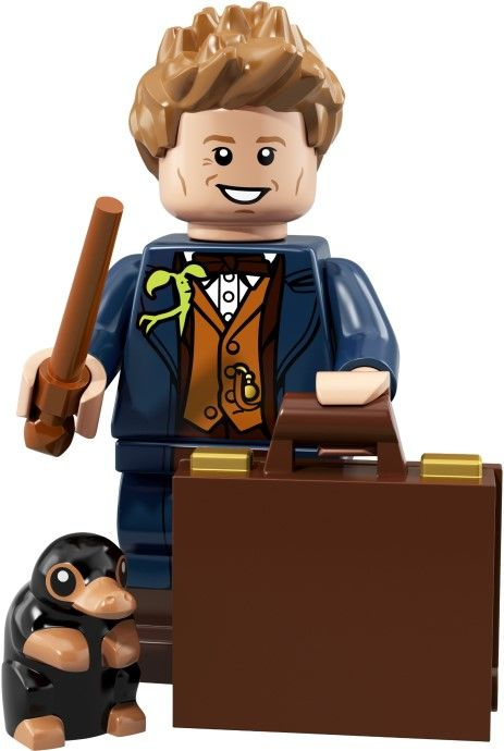 Newt Scamander Factory Sealed Lego 71022 Harry Potter CMF