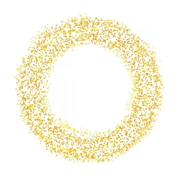 Circle Glitter Frame Border Gold Style Png And Psd Gold Circle Frames Glitter Frame Frame Border Design