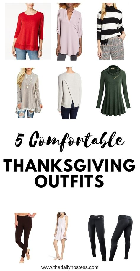5 Thanksgiving Outfits To Be Comfortable How To Dress Comfortably