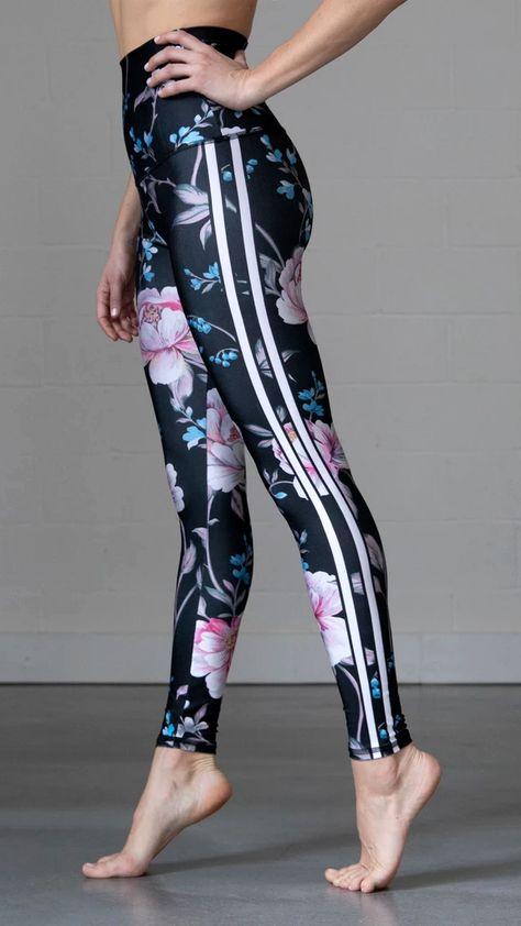 Yoga Pants Gray Mermaid Leggings with Jewel Toned Accents Pastel Grunge Dark Mermaid Scales