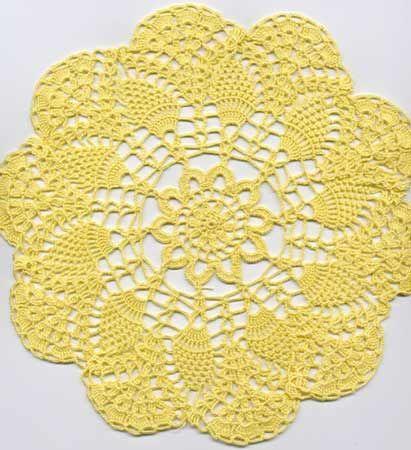 Doily pattern - free crochet pattern