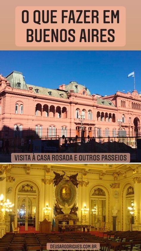 Dicas do passeio à Casa Rosada e vários outros passeios e experiências em Buenos Aires. #argentina #buenosaires #viagem