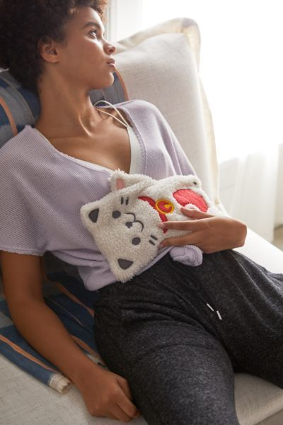 Huggable Lucky Cat Cooling Heating Pad Love It Heating