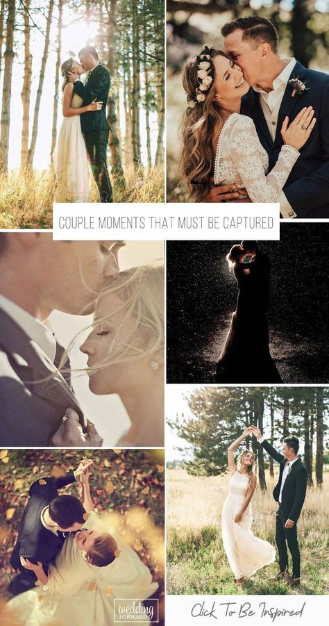This gallery of beautiful couples moments during the wedding is sure to give you some inspirational ideas for your wedding album. It might be close up shots, romantic holds, some casual poses or even outdoor photos. #weddingforward #wedding #bride #weddingphoto