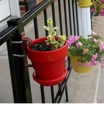 Pin On Container Garden Designs With Clay Pots Using Hangapot