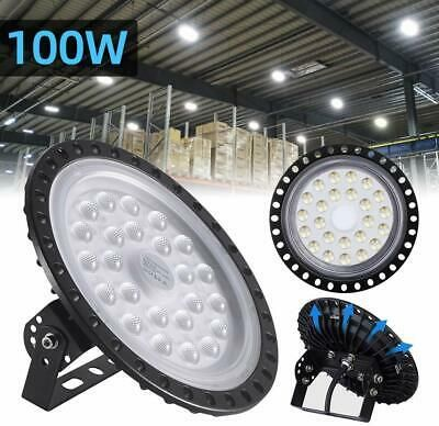 Hyperlite 100W UFO High Bay LED Warehouse Light fixture factory shop lighting
