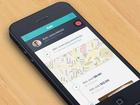 Timeline UI/App Design Pinterest Behance, Timeline and You think