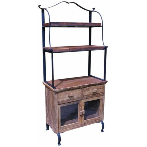 Country Baker S Rack Gorgeous Bakers Cabinet Bakers Rack