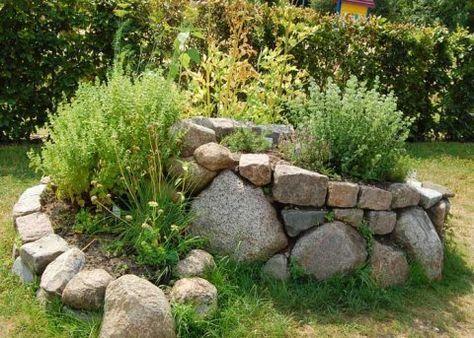 Krauterspirale Pflanzenpaket Spiral Garden Plants Landscaping With Rocks