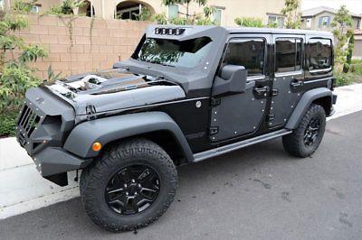 Ebay Jeep Wrangler Unlimited Sahara Moab Edition Ahara Moab