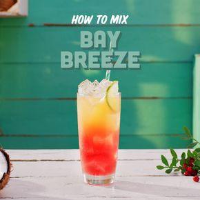 Malibu Bay Breeze Recipe Malibu Rum Drinks Rum Drinks Recipes Rum Drinks