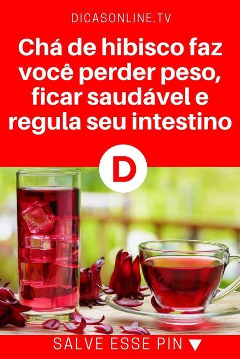 Cha De Hibisco Emagrece Bebidas Para Secar A Barriga Perder Peso