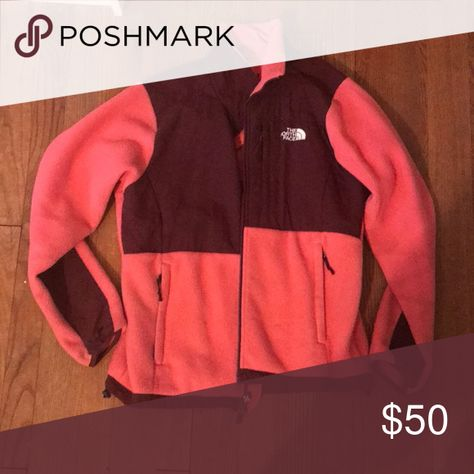 Women's North Face Fleece, coral Pink coral and burgundy north face fleece for women The North Face Jackets & Coats