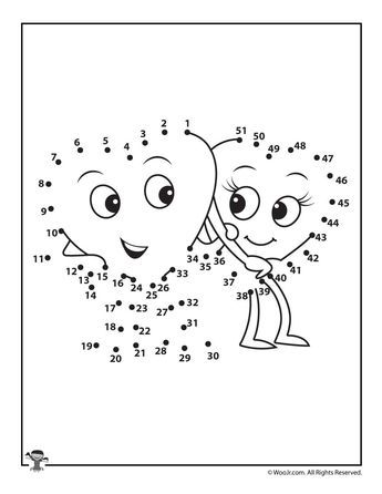 Printable Valentine S Day Dot To Dots