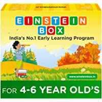 Einstein Box For 4 5 And 6 Year Old Baby Boys And Girls Learning And Educational Gift Pack Of Toys Games And In 2020 2 Year Old Baby Educational Toys For Kids Einstein