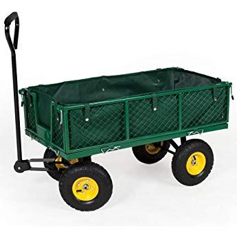 Tectake Heavy Duty Wheelbarrow Garden Trolley Mesh Cart Different Models Type 4 Schubkarre Bollerwagen Schubkarre Garten