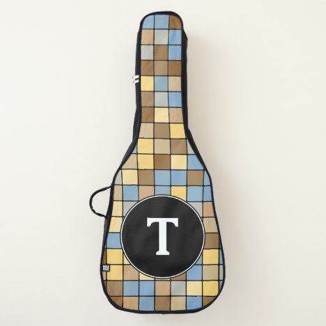 Wheat Field Harvest Inspired Tiles Pattern Guitar Case Zazzle Com With Images Tile Patterns Guitar Case Wheat Fields