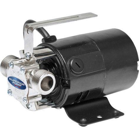 Superior 115 V Transfer Pump W Suction Hose Attachment By Superior Suction Hose Pumps Submersible