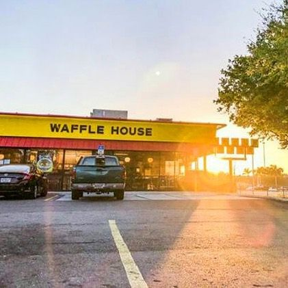 Happiness And Sunshine Josh Mclendon Waffletime Wafflehouse Sunshine Waffle House Sunshine Iconic Buildings