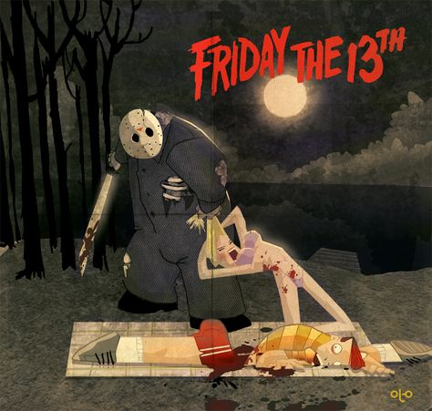 Friday the 13th (by Ottò Ritter Junior)