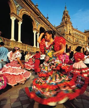 Seville - the ultimate city to experience Flamenco y Feria - LOVE this pic!!  Sevilla is undoubtedly my favorite city in Spain and definitely one of my favorites in Europe- nothing can compare to southern Spain's authentic charm and atmosphere!