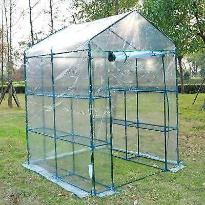 5 X5 X6 Portable Walk In Greenhouse 8 Shelves Plant Flower Gardening House 700729272589 Ebay Outdoor Greenhouse Greenhouse Kit Greenhouses For Sale
