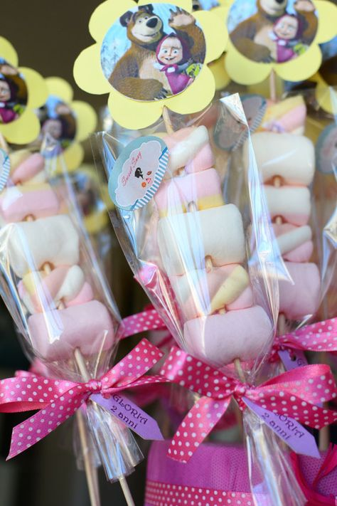 Items similar to Marsha and Orso Marshmallows pops on Etsy