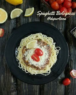 Bolognese Spaghetti Di 2020 Resep Masakan Makanan Italia Resep