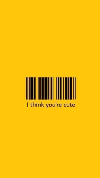 Barcode Aesthetic Tumblr In 2020 Yellow Aesthetic Pastel Tumblr Yellow Yellow Wallpaper