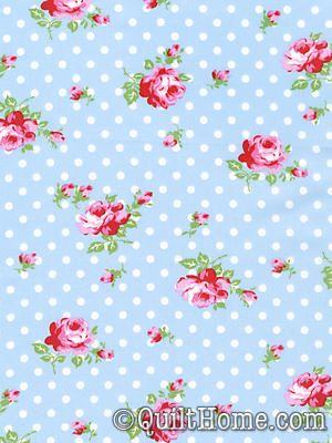Delilah TW36-Blue Fabric by Tanya Whelan