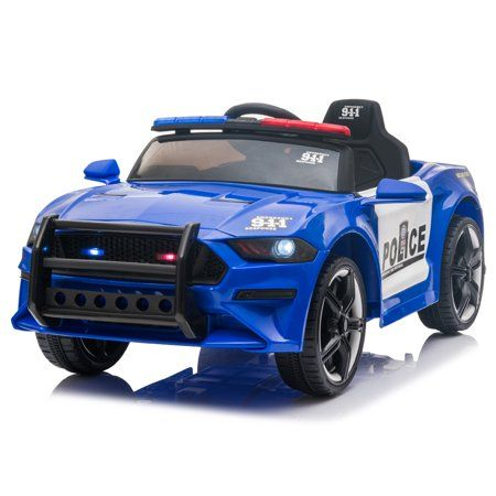 Kids Ride On Toys Police Car Urhomerpo 12 Volt Ride On Cars With Remote Control Power 4 Wheels Police Truck With 3 Speeds Kids Ride On Police Truck Toy Car