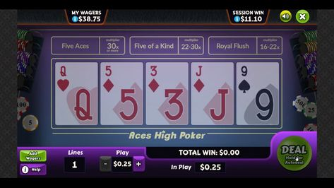 Latest Game - Aces High!
