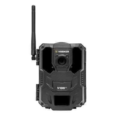 Vosker Wireless 4g Outdoor Security Camera V V100 V The Home Depot Outdoor Security Camera Mobile Security Security Camera