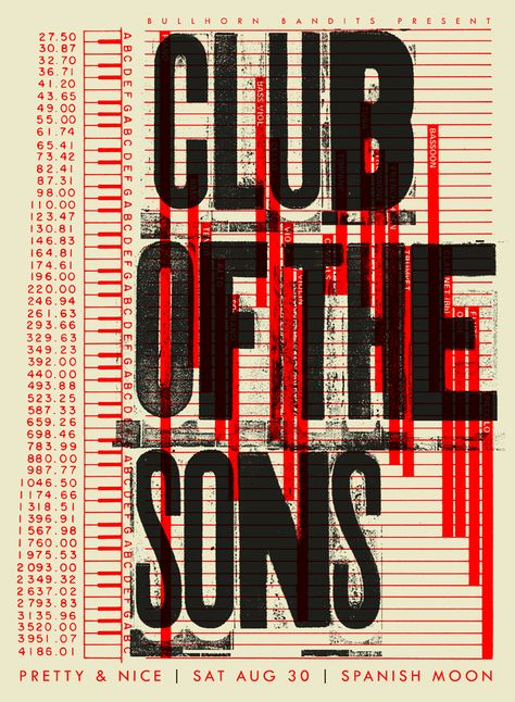 club of the sons poster