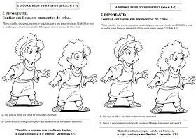 Crianca Em Defesa Do Evangelho Eliseu O Sucessor De Elias 5