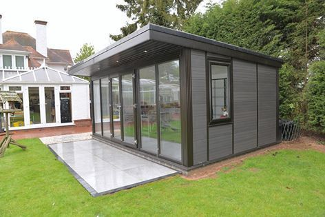 Composite Garden Rooms Manchester How Much Does A Garden Room Cost An Uncomplicated Shiplap Back Yard Office Deck Building Cost Garden Room Outdoor Buildings