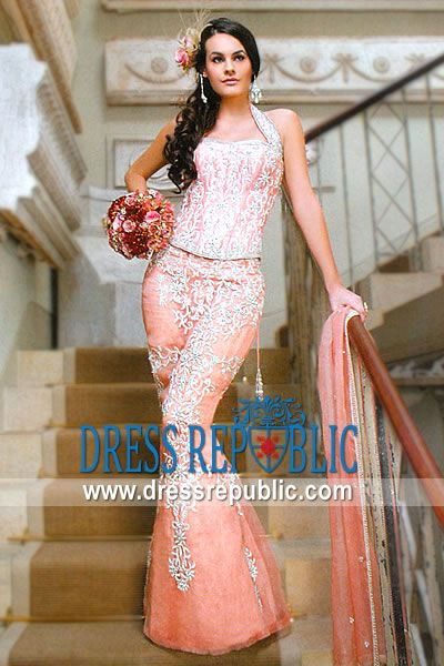 Mermaid Cut Bridal Outfit For Wedding By Manish Arora