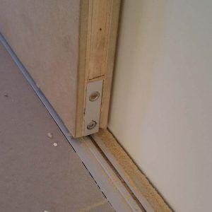 Sliding Interior Doors No Bottom Track Wooden Doors Interior