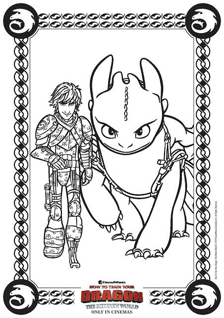 How To Train Your Dragon The Hidden World Activity Sheets