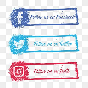 Social Media Follow Us Button Social Media Follow Us Buttons Follow Us On Facebook Facebook Png And Vector With Transparent Background For Free Download Social Media Icons Vector Social Media Card