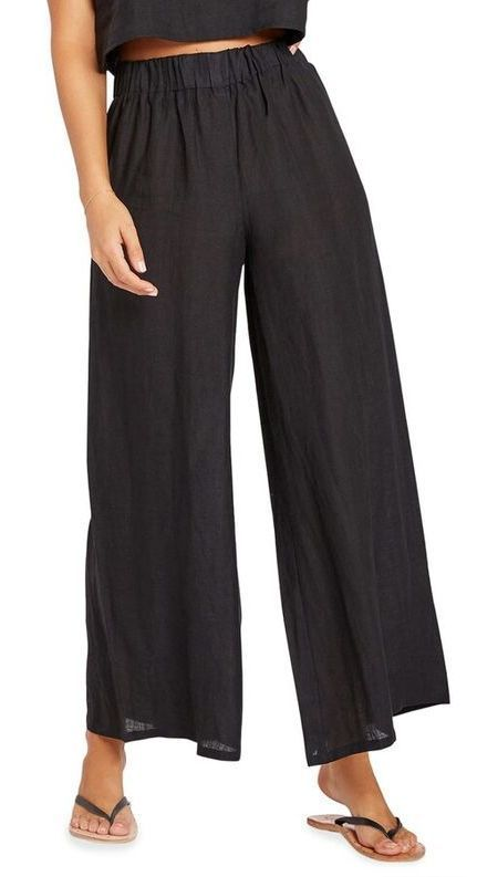 Tallows Wide-Leg Coverup Pants (ad)