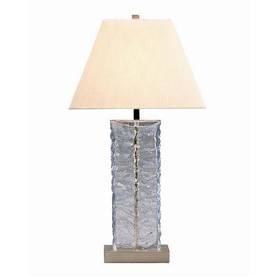 Pale Blue Glass Table Lamp Table Lamp Lamp Glass Table