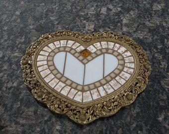 Heart Shaped Dresser Tray