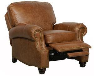 Barcalounger Longhorn Ii Top Grain Leather Recliner Leather Recliner Brown Leather Chairs Leather Furniture