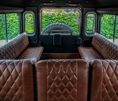 Discover recipes, home ideas, style inspiration and other ideas to try. Land Rover Defender Camping, Land Rover Defender Interior, Defender Camper, New Defender, Landrover Defender, Land Rover Santana, 4x4, Land Rover Series 3, Custom Trucks