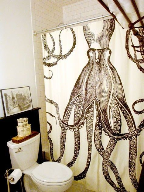 I saw a Hawaiian teenager with an unbelievable octopus tattoo wrapped around his chest and side. This reminds me of it.