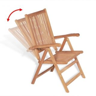silla reclinable jardin de madera precio mas barato