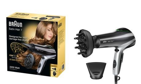 One Aed 225 Or Two Aed 435 Braun Satin Iontec Hair Dryers