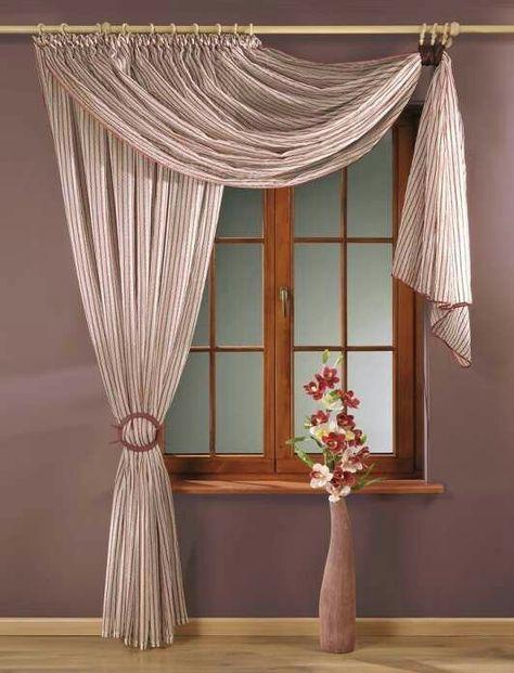 сегодня как развешать на окне одну штору фото выбрать или сделать